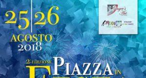 Piazza in Festa a Montecorvino Pugliano, Salerno