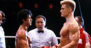 Rocky Balboa e Ivan Drago in Rocky 4