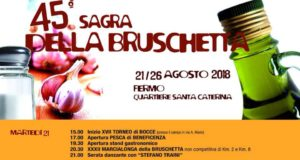 Sagra della Bruschetta 2018 a Fermo