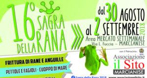 Sagra della Rana a Marcianise, Caserta