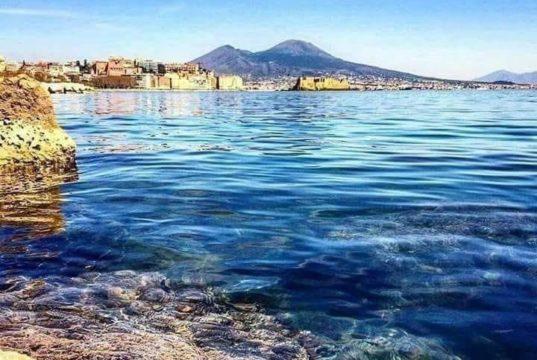 Capri - Napoli di nuoto, Golfo di Napoli