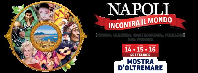locandina Napoli incontra il mondo