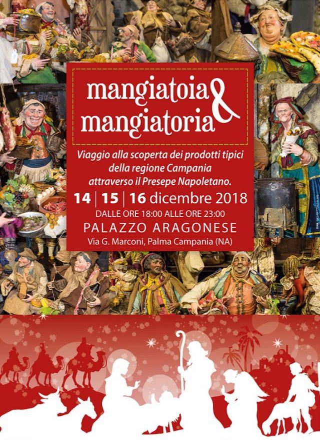 Locandina Mangiatoia e Mangiatoria, Palma Campania