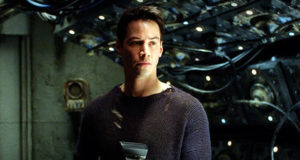 Matrix Revolutions, con Keanu Reeves