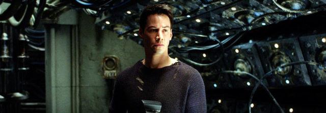 Matrix Revolutions,con Keanu Reeves