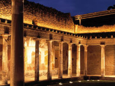 Oplontis, portico della Villa di Poppea