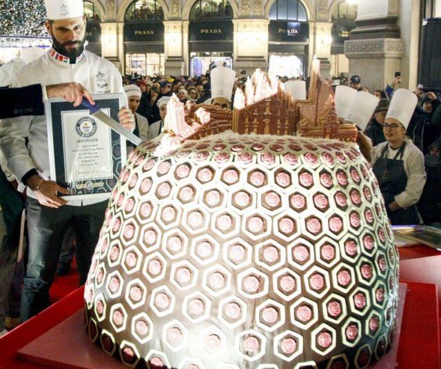 Panettone piu grande del mondo, Milano