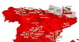 Percorso della Vuelta 2019