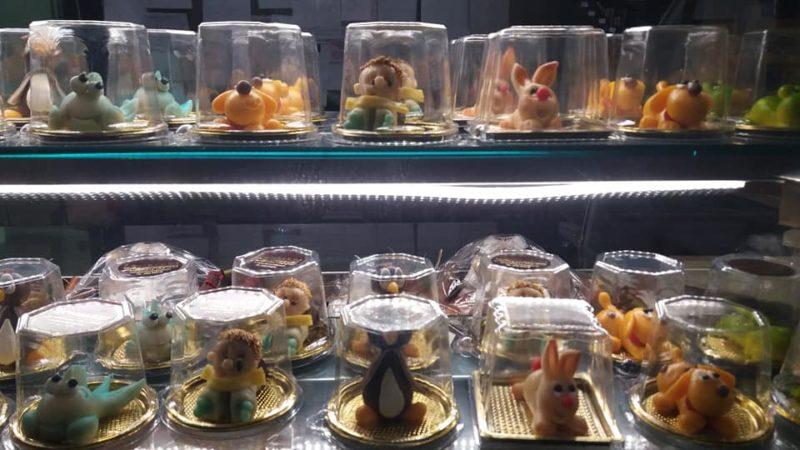 animaletti di zucchero cake design