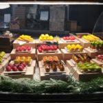 dolci a forma di frutta di zucchero.