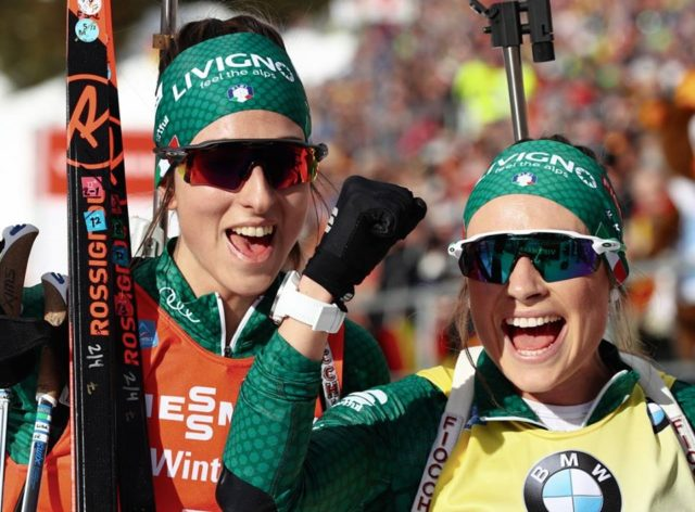 Biathlon, ad Anterselva Dorothea Wierer prima e Lisa Vittozzi terza