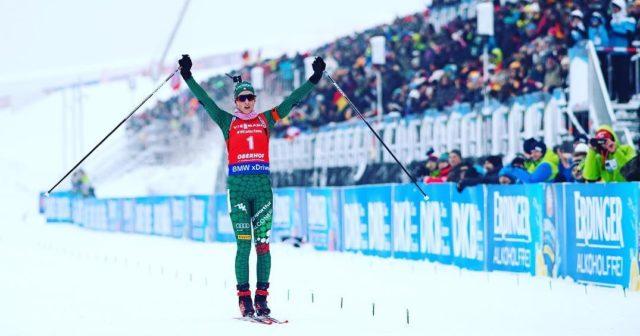 Lisa Vittozzi vince l' inseguimento a Oberhof