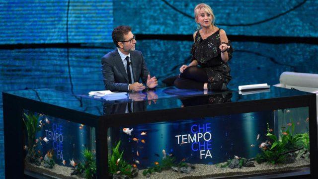 Stasera in tv Che Tempo che Fa, Fabio Fazio e Luciana Littizzetto