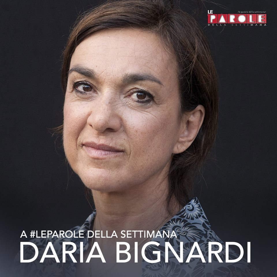 Stasera in tv Daria Bignardi a Le parole della settimana