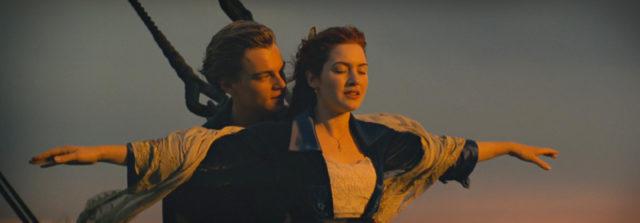 Titanic, film con Kate Winslet eLeonardo DiCaprio