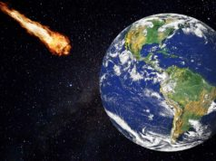 asteroide in collisione con la Terra
