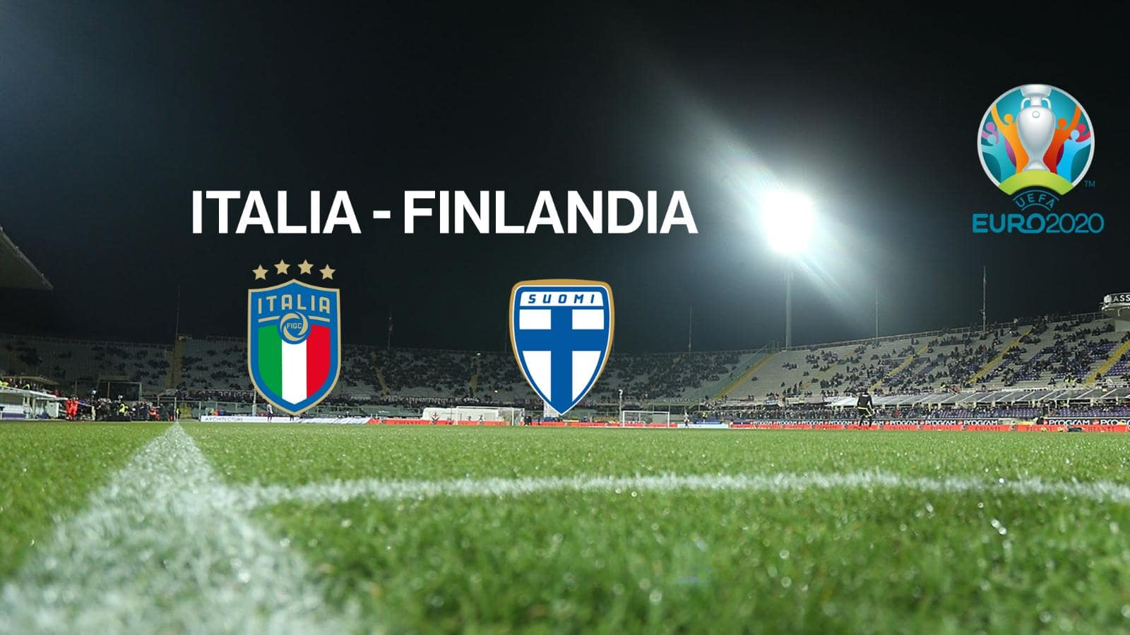 Stasera in tv Italia - Finlandia