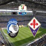 Stasera in tv Coppa Italia, Atalanta - Fiorentina