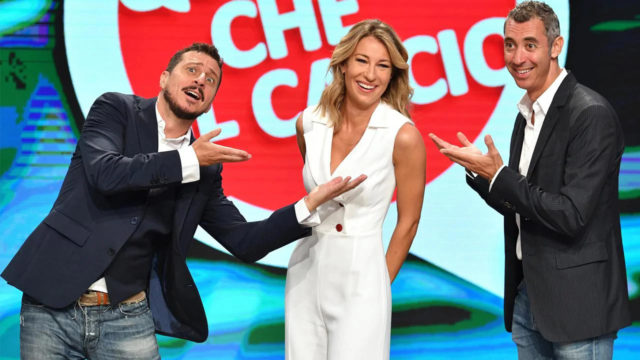 Mia Ceran con Luca e Paolo, Quelli che il calcio